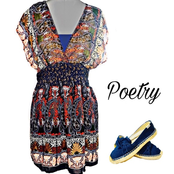 Poetry Dresses & Skirts - Poetry Sheer Paisley Long Tunic